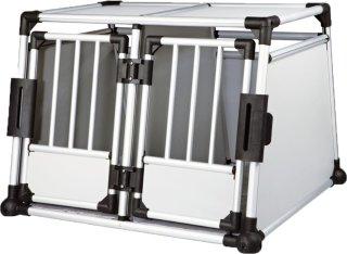 Aluminium Dobbelt Hundebur 7 (Medium/Large)