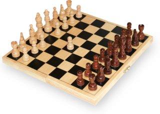 Sjakkbrett i tre