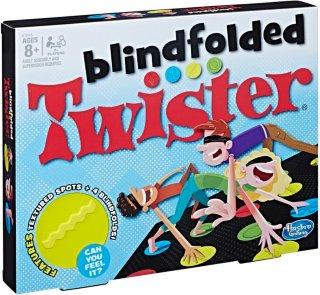Blindfold Twister Brettspill