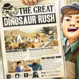 Great Dinosaur Rush Brettspill