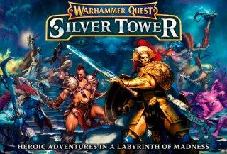 Warhammer Quest Silver Tower Brettspill