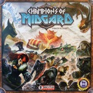 Champions of Midgard Brettspill