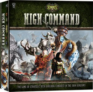 Hordes High Command Kortspill