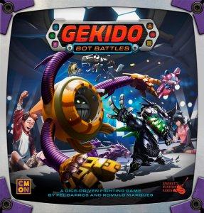 Gekido Bot Battles Brettspill