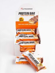 Nutramino Proteinbar Chunky Peanut & Caramel 12x60g