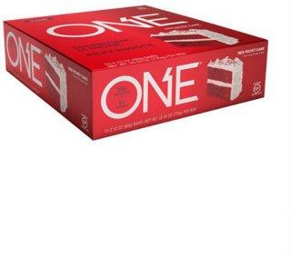 Oh Yeah ONE Bars Red Velvet 12x60g