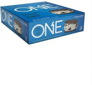 Oh Yeah ONE Bars Cookies & Cream 12x60g