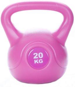 Levity Premium Fitness Vinyl Kettlebell, 4-20kg