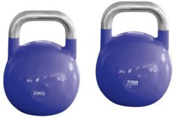 Titan Fitness Titan Competition Kettlebells, 8-32kg