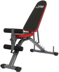 Titan Fitness Treningsbenk, justerbar