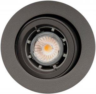 Sg jupiter outdoor downlight 6w led 3000k antrasitt