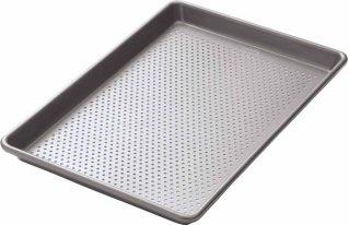 Kitchen Craft Chicago Metallic Perforert Stekebrett 25x38 cm