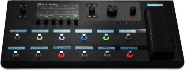 Line 6 Helix pedalboard