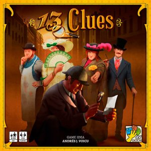 13 Clues Brettspill