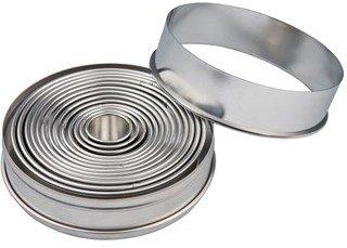 Patisse Pepperkakeform Ringer 14 stk
