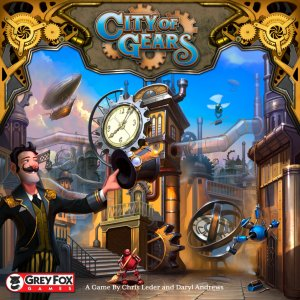 City Of Gears Brettspill