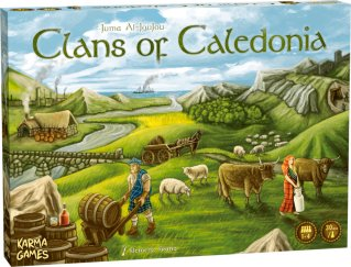Clans of Caledonia Brettspill