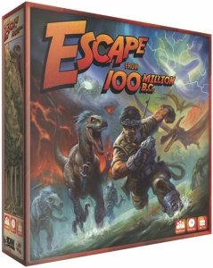 Escape From 100 Million BC Brettspill