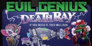 Evil Genius Deathray Kortspill
