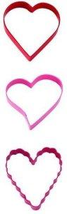 Wilton Kakeutstikkersett Valentine 3 deler