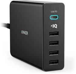 Anker PowerPort+ 5 USB-C
