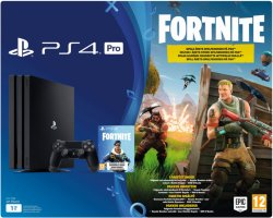 Sony Playstation 4 Pro Fortnite Bundle