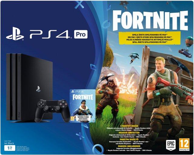 Sony Playstation 4 Pro Fortnite Bundle