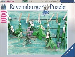 Ravensburger Puslespill 1000 Biter Urter