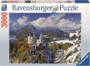 Ravensburger Puslespill 3000 Biter Neuschwanstein