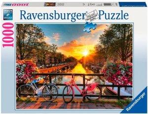 Ravensburger Puslespill 1000 Biter Amsterdam