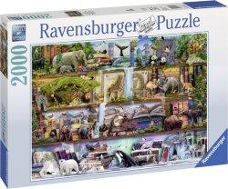 Ravensburger Puslespill Dyreriket 2000 Biter