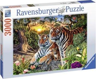 Ravensburger Puslespill Tigre 3000 Biter