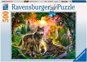 Ravensburger Ulvefamilie 500 biter