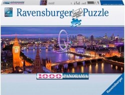 Ravensburger Puslespill 1000 Biter London Panorama