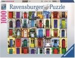 Ravensburger Puslespill 1000 Biter Doors of the World