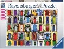 Ravensburger Puslespill 1000 Biter Doors of the World