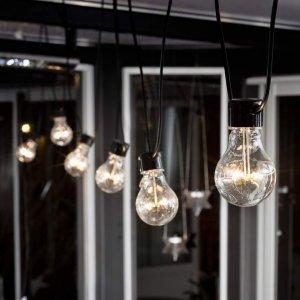 Konstsmide LED-lyslenke, grunnsett klare lyspærer