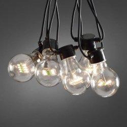Konstsmide LED-lyslenke, utbygging klare lyspærer