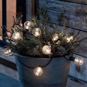 Lyslenke med LED-LM glødetrådeffekt 10 lys