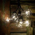Lyslenke med LED-LM Glødetrådeffekt