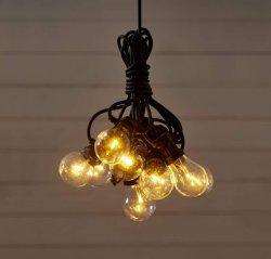 LED-lyslenke Circus med 10 lys klar