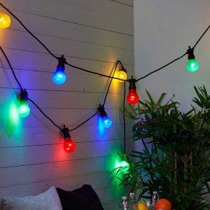 Circus Curcous LED-lyslenke Flerfarget