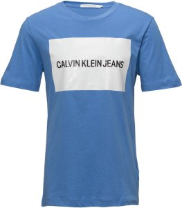 Calvin Klein Jeans Institutional Box Logo Tee (Herre)