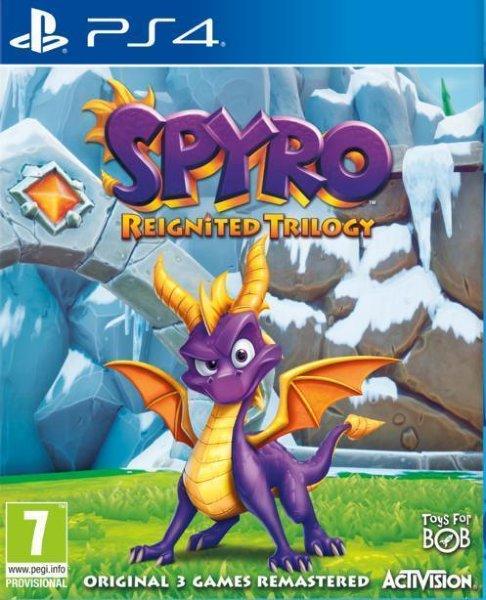 Spyro Reignited Trilogy til Playstation 4