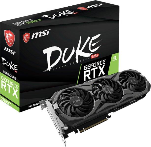 MSI GeForce RTX 2080 Ti Duke OC