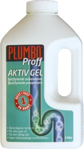 Plumbo Proff Aktiv Gel 1L