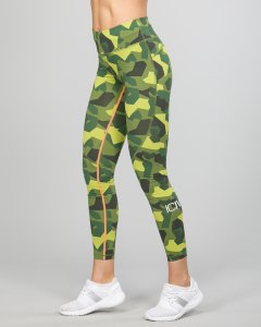 Icaniwill Camo Tights (Dame)
