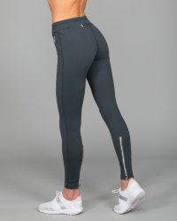 Elle Sport Thermal Tight Ankle Zip