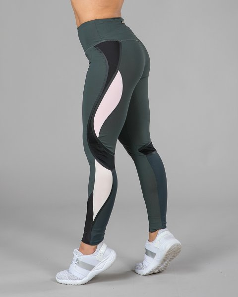 Elle Sport Contour Panelled Tights