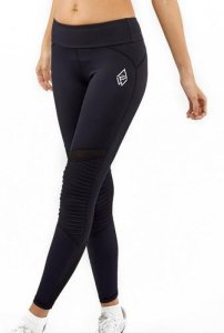 We Are Fit Black Squad Moto Tights